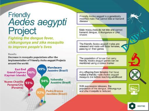 Φωτ. 2 Το φυλλάδιο της εταιρίας OXITEC