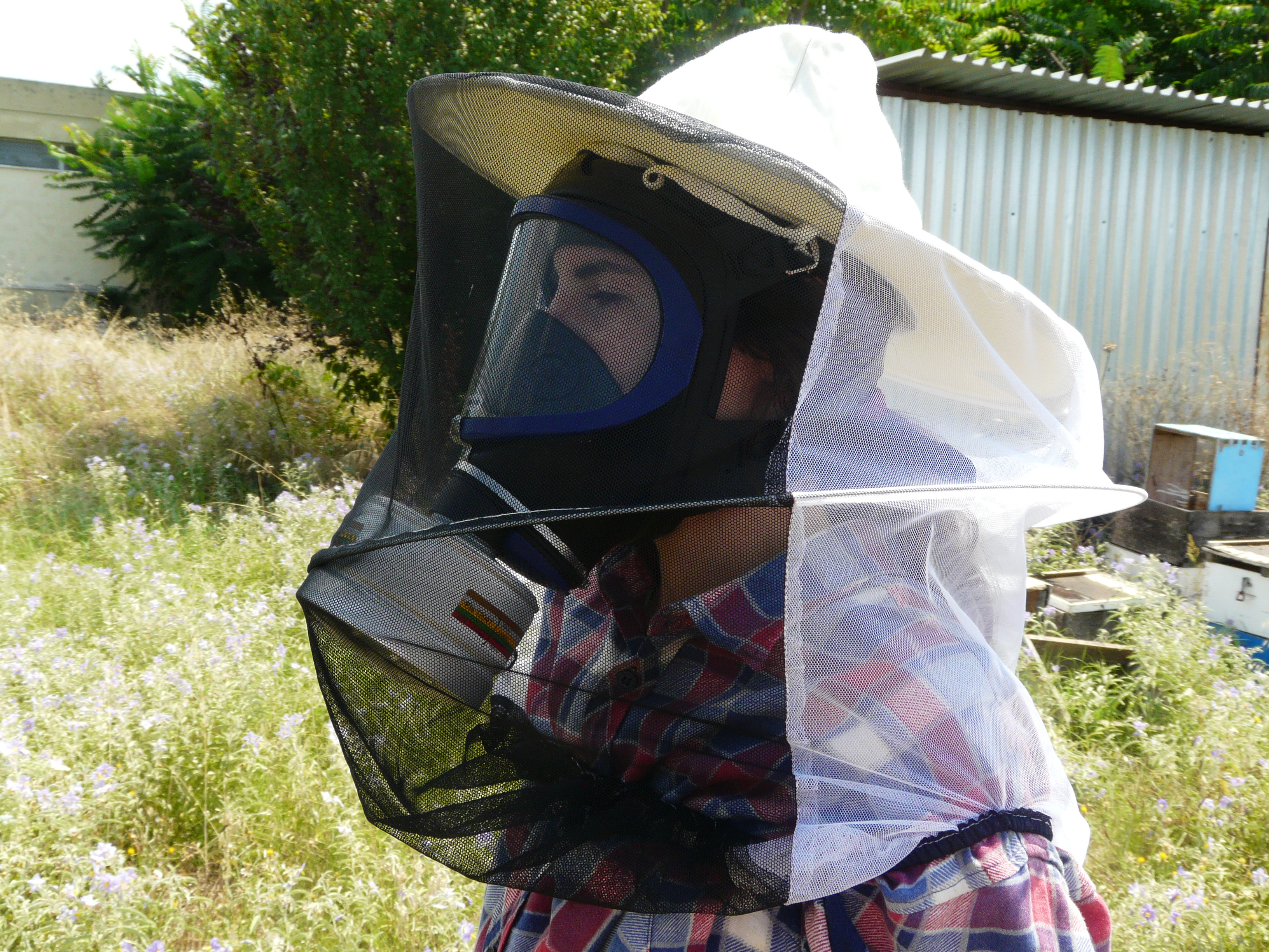 Εικόνα 4. Απαραίτητη η καλή μάσκα στην εφαρμογή σκευασμάτων με νεφελοποιητή